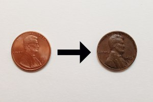 Science Fair Penny Challenge