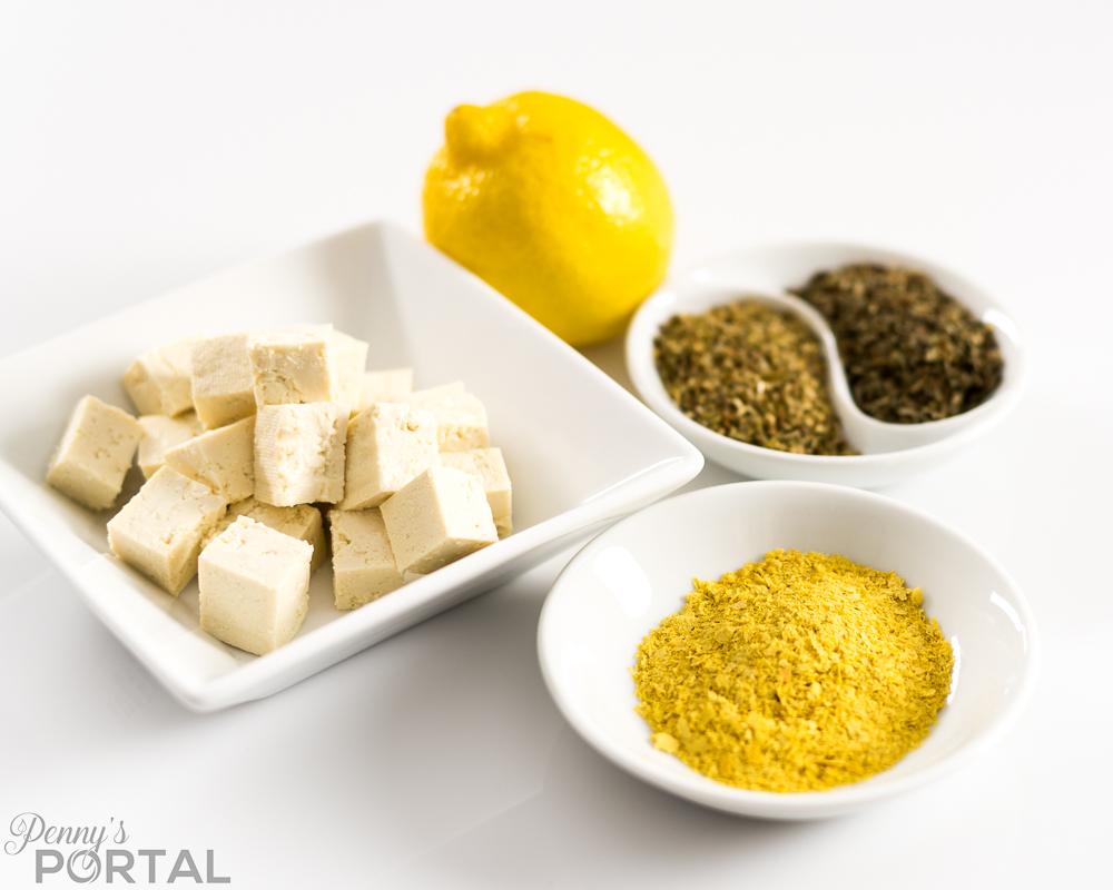 Delicious, creamy vegan tofu ricotta cheese! (Oil free, gluten free, nut free)