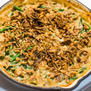 How to Make Vegan & Gluten Free Green Bean Casserole