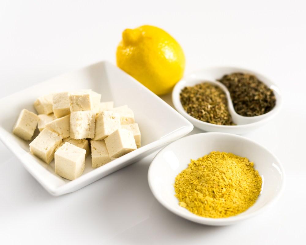 Tofu Ricotta Ingredients