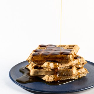Easy Vegan Waffles (Gluten & Oil Free)