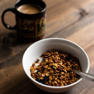 Baking Adventures: Pumpkin Maple Pecan Granola