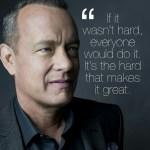tom Hanks on Acxting