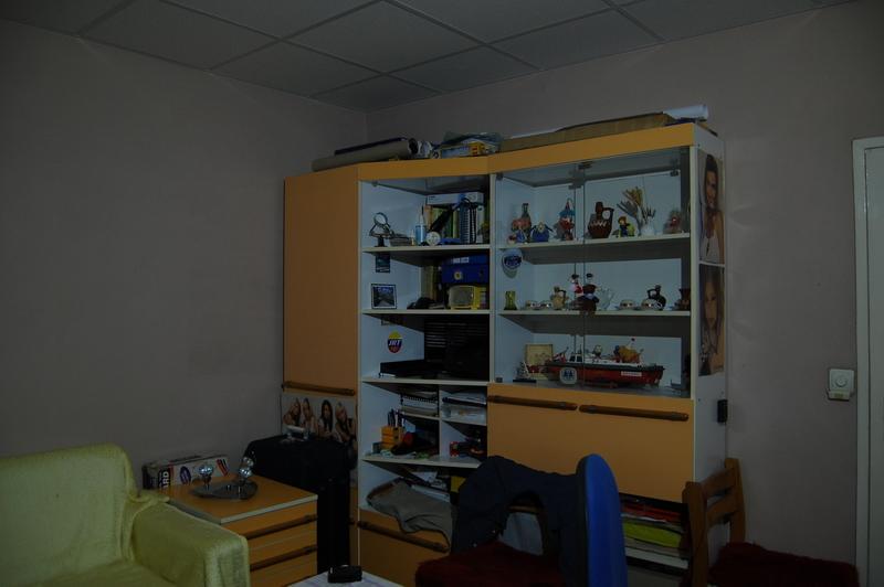 Поглед към стаята, осветена от същия светодиод при същата мощност