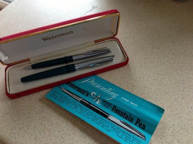 Waterman CF fountain pen