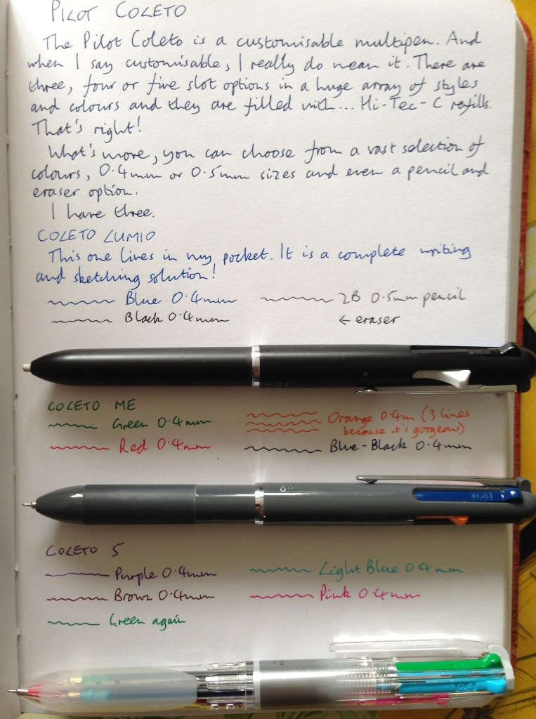 Pilot Coleto multipen review