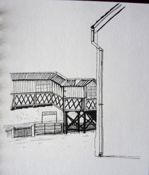 Yeovil Junction footbridge