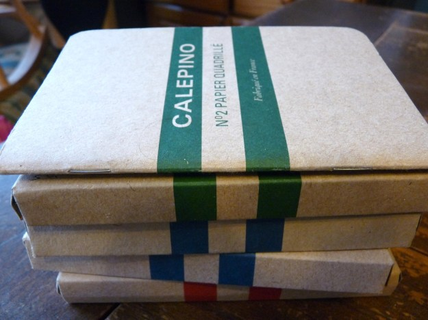 Calepino notebook boxes