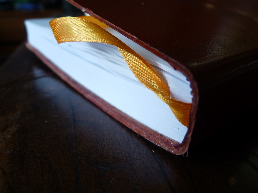 Monsieur fountain pen notebook end ribbon