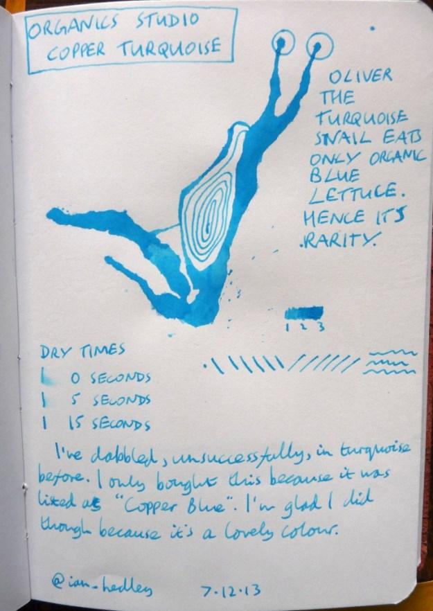 Organics Studio Copper Turquoise review