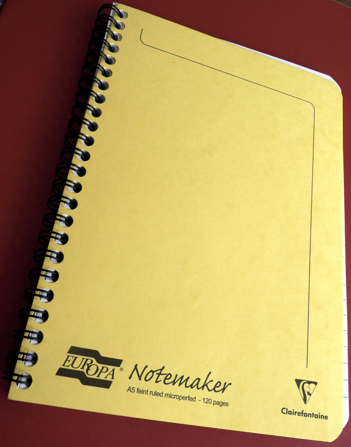Clairefontaine Europa Notemaker review