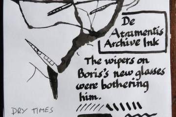 De Atramentis Archive Ink review and Inkling