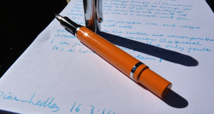 Franklin-Christoph M27 fountain pen review
