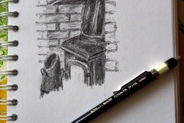 Koh-I-Noor Toison D'Or Clutch Pencil 2mm 5900 sketch