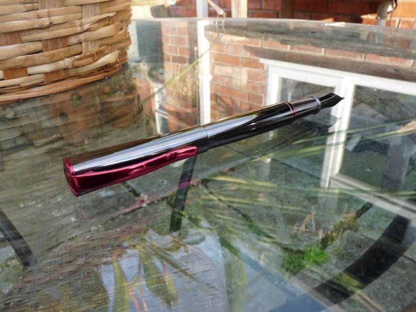 Monteverde Impressa fountain pen posted