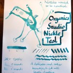 Organics Studio Nickel Teal ink review