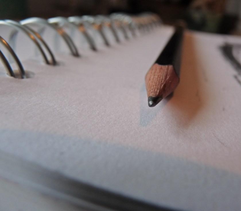 Palomino Blackwing pencil pointy bit