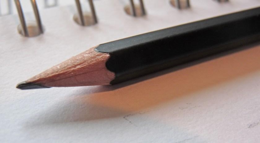 Palomino Blackwing pencil tip