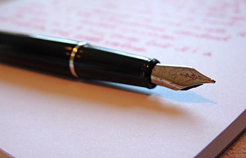 Diplomat Traveller fountain pen nib