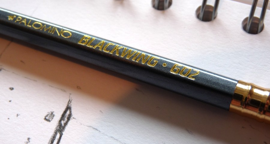 Palomino Blackwing 602 pencil logo