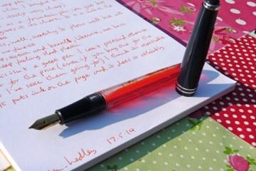 Serwex 101 F fountain pen uncapped