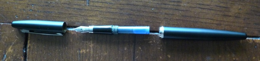 Sheaffer VFM fountain pen deconstructed