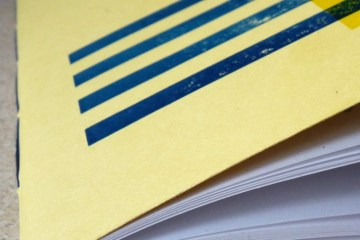 Tada A5 notebook corner