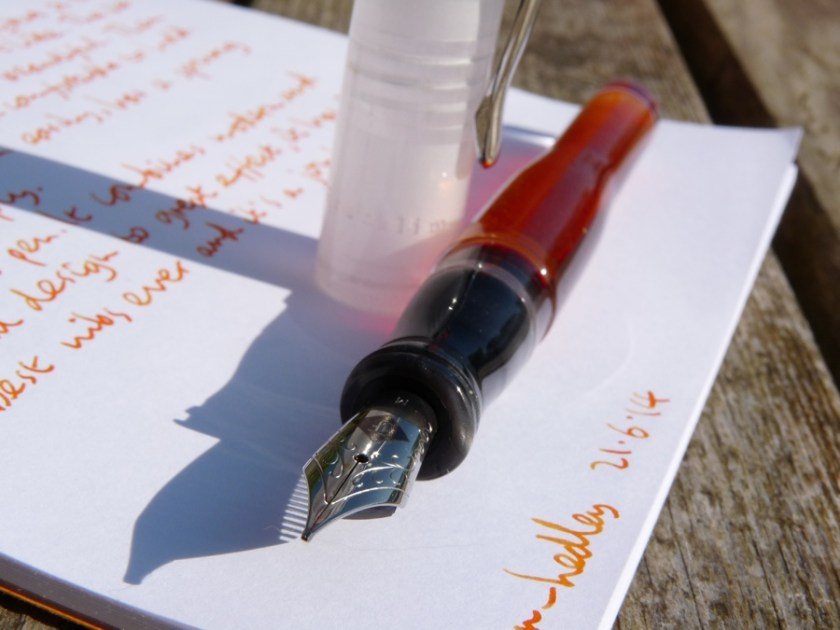 Franklin-Christoph M02 fountain pen nib