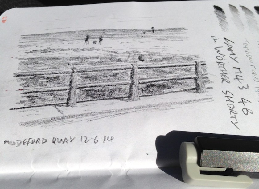 Mudeford Quay sketch