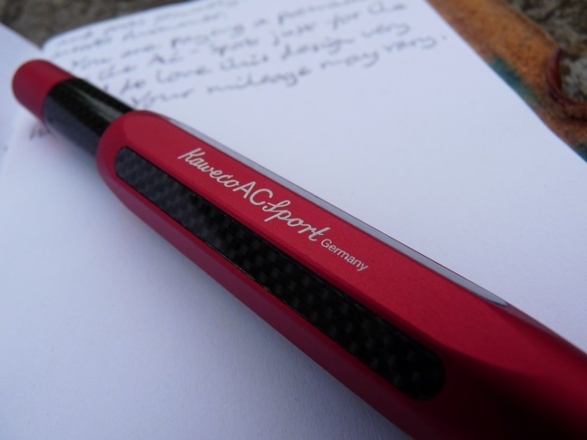 Kaweco AC-Sport fountain pen branding