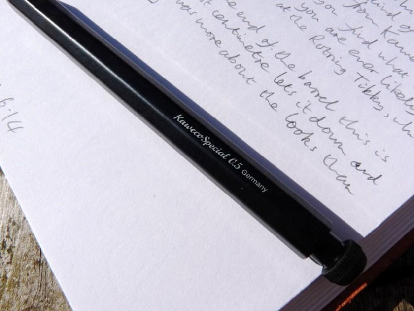 Kaweco Special Pencil 0.5 branding