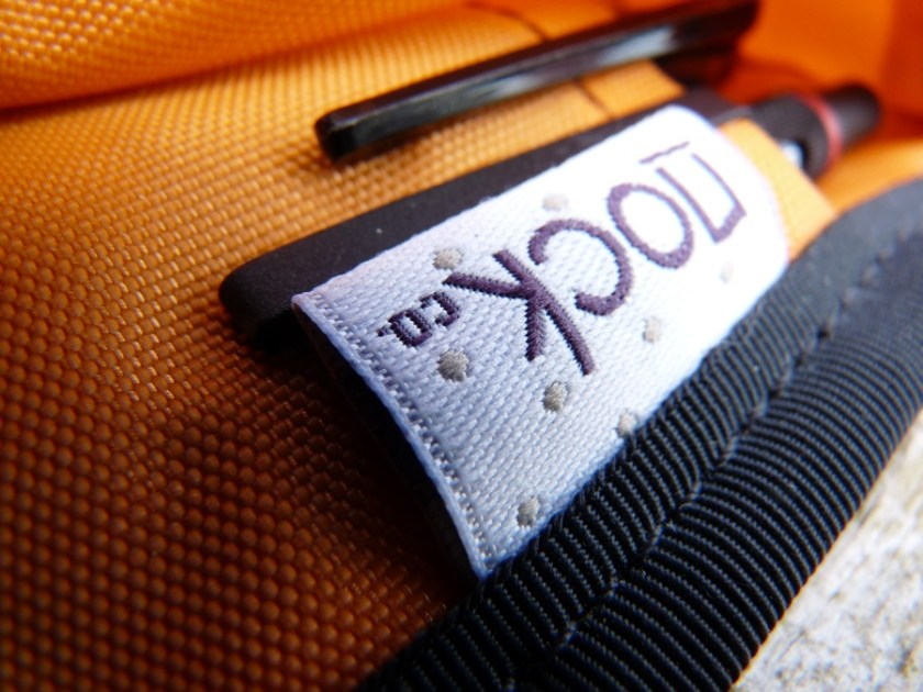 Nock Co Sassafras pen case label