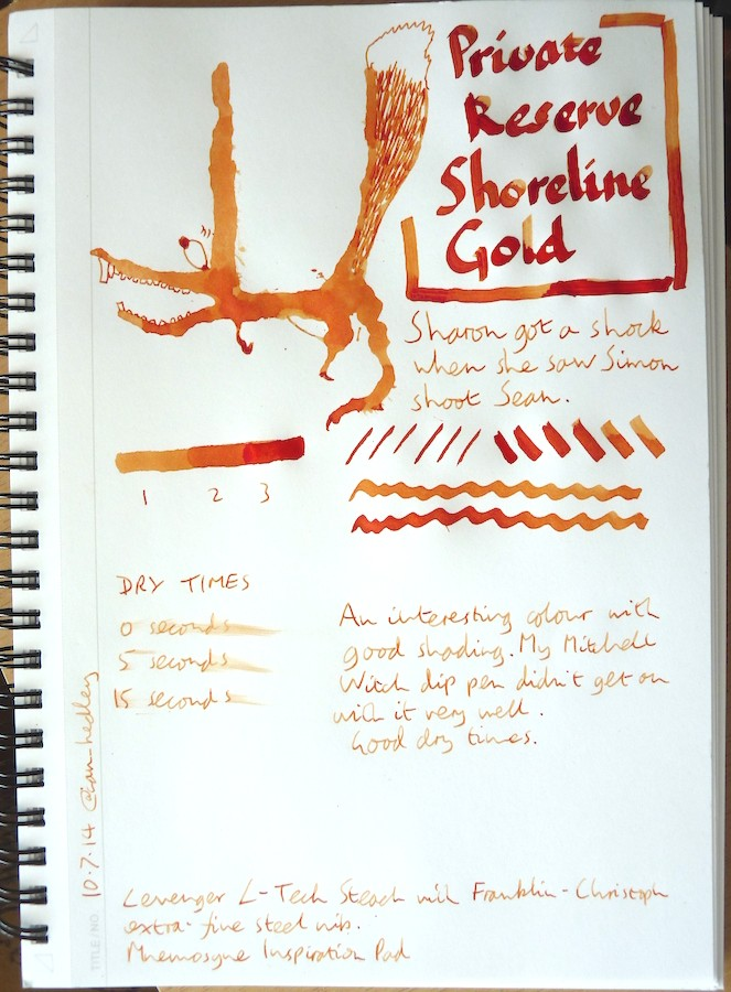 Private Reserve Shoreline Gold Inkling