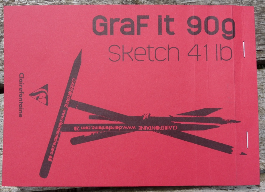 Clairefontaine GraF it 90g sketchbook cover