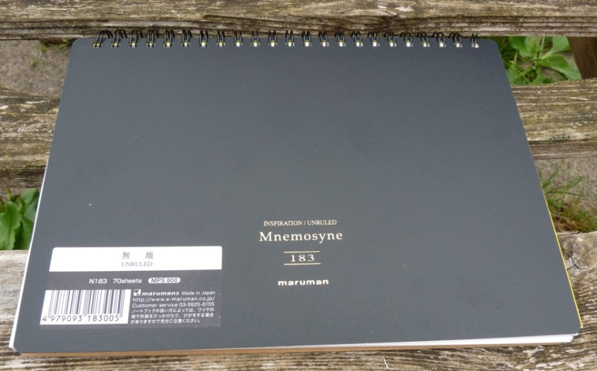 Maruman Mnemosyne Inspiration Pad front cover
