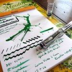Pelikan Edelstein Aventurine ink review