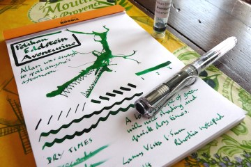 Pelikan Edlestein Aventurine ink review