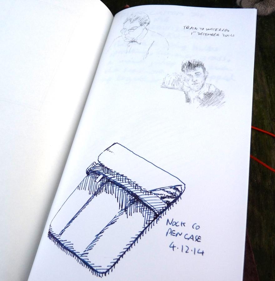 Midori Travelers Notebook Refill 003 plain inside