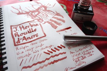 J Herbin Rouille dAncre ink review