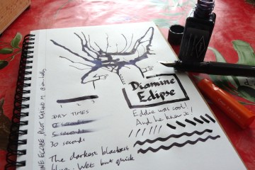 Diamine Eclipse ink review