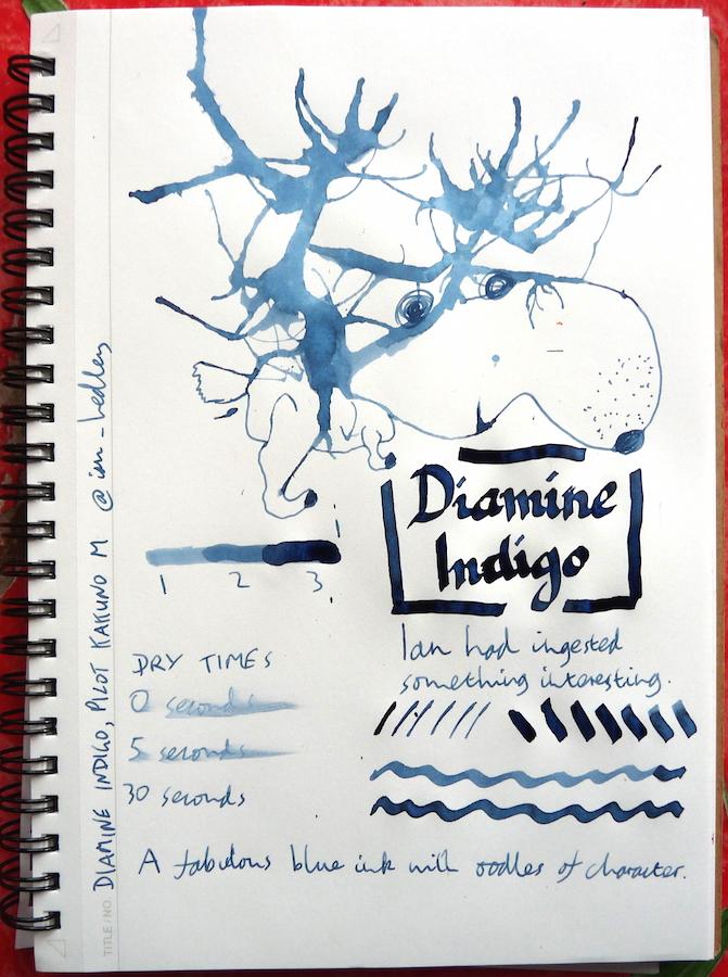 Diamine Indigo Inkling