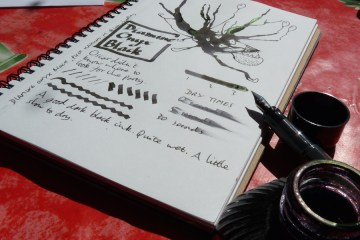 Diamine Onyx Black ink review