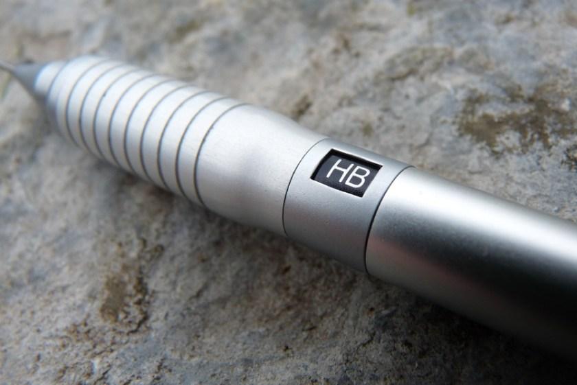 Platinum Pro-Gear pencil grip and hardness indicator