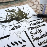 Montblanc Jonathan Swift Seaweed Green ink review