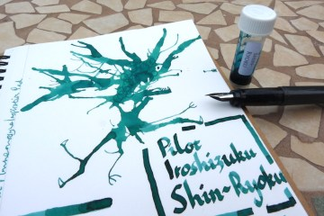 Pilot Iroshizuku Shin-Ryoku ink review