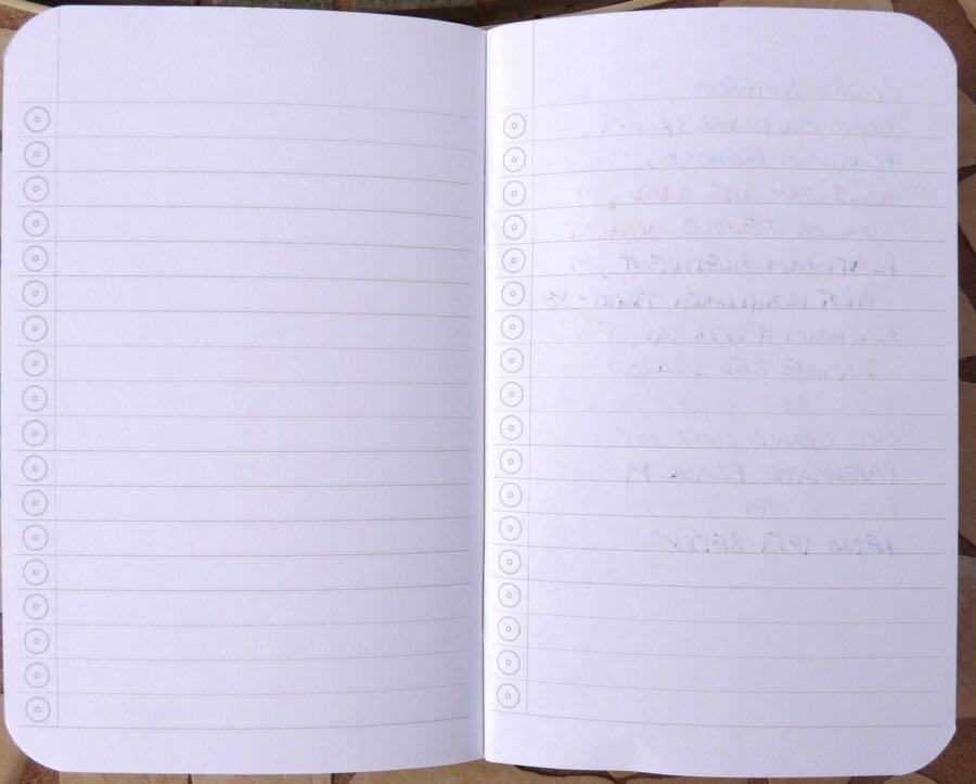 notebook essay