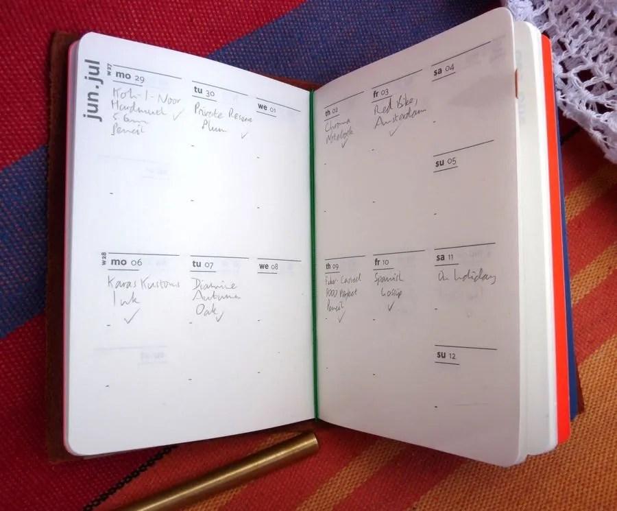 Paper Republic Grand Voyageur calendar
