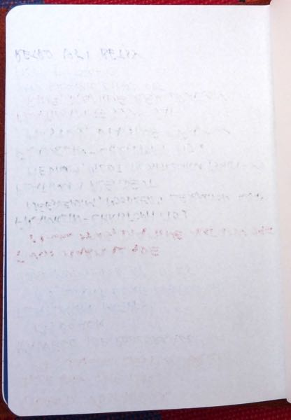 Paper Republic Grand Voyageur ink samples back