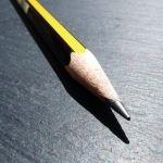 Staedtler Noris pencil pointy bit