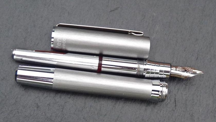 Cult Pens Mini Fountain Pen deconstructed